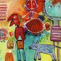 Colourfull Mars Men VI Fine-Art Print