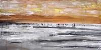 Beach II Panel Fine-Art Print