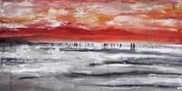 Beach IV Panel Fine-Art Print