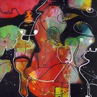 Abstract on Black 2 Fine-Art Print