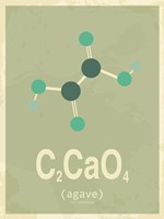 Molecule Agave Green Fine-Art Print