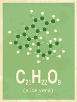 Molecule Aloe Vera Green Fine-Art Print