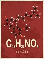 Molecule Chili Fine-Art Print
