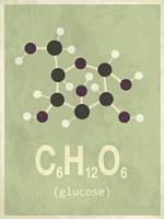 Molecule Glucose Fine-Art Print
