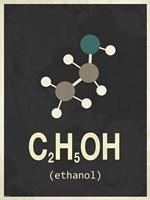 Molecule Ethanol Fine-Art Print