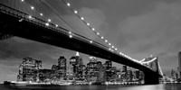Brooklyn Bridge at Night Fine-Art Print