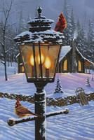 Cardinal Perch Fine-Art Print