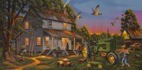 Playtime On The Farm Fine-Art Print
