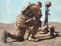 Soldier's Cross Fine-Art Print