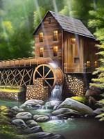 Gristmill Fine-Art Print