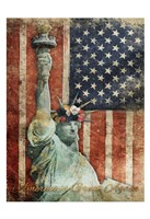 Statue Of America Is Great Again Fine-Art Print