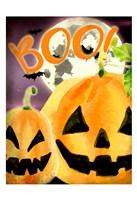 Boo Pumpkins Fine-Art Print