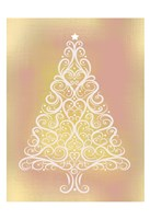 Frosted Christmas Gold Fine-Art Print