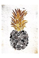 Golden Mandala Pineapple Fine-Art Print