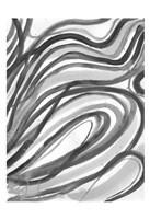 Charcoal Ripples 2 Fine-Art Print