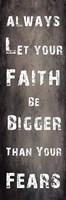 Faith And Fear Fine-Art Print