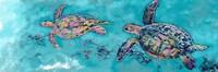 Turtles Together Fine-Art Print