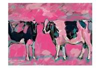 Pink Cows 1 Fine-Art Print