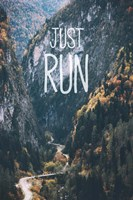 Just Run Fine-Art Print