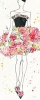 Floral Fashion II Fine-Art Print