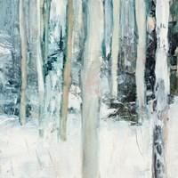 Winter Woods I Framed Print