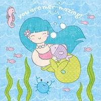 Magical Mermaid II Framed Print