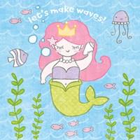 Magical Mermaid I Fine-Art Print