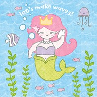 Magical Mermaid I Fine-Art Print