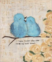 Blue Birds Fine-Art Print