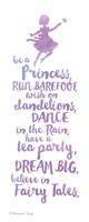 Believe in Fairy Tales Framed Print