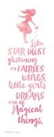 Little Girls Dreams Framed Print