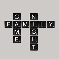 Game Night - Black Fine-Art Print