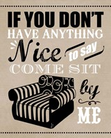 Come Sit by Me Fine-Art Print