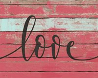 Love Script Fine-Art Print
