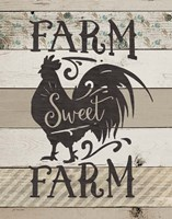 Farm Sweet Farm Framed Print