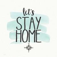 Stay Home Fine-Art Print