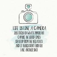 Life is Like a Camera Fine-Art Print