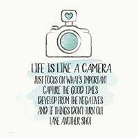 Life is Like a Camera Fine-Art Print