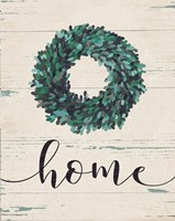 Home Wreath (vertical) Fine-Art Print