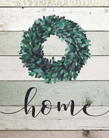 Home Wreath II Framed Print