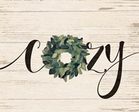 Cozy Wreath Fine-Art Print