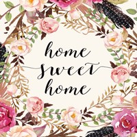 Home Sweet Home - Sq. Fine-Art Print