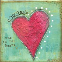 Heart of Courage Fine-Art Print