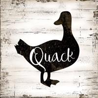 Farmhouse Duck Fine-Art Print