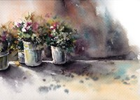 Flower Pots Fine-Art Print