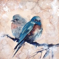 Blue Birds Fine-Art Print