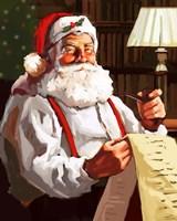 Santa's List Fine-Art Print