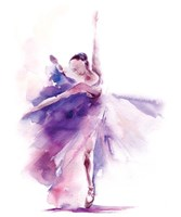 Purple Ballerina Fine-Art Print