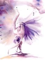 Purple Ballerina II Fine-Art Print