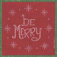 Be Merry Fine-Art Print